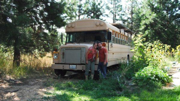 11 School Bus Micro Home 1