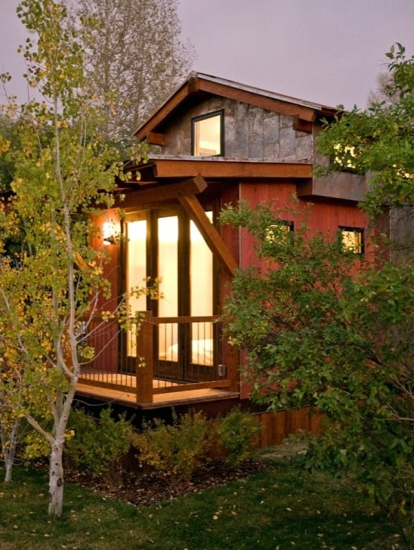 The wheelhaus caboose wins big on style points for Jackson wy alloggio cabine