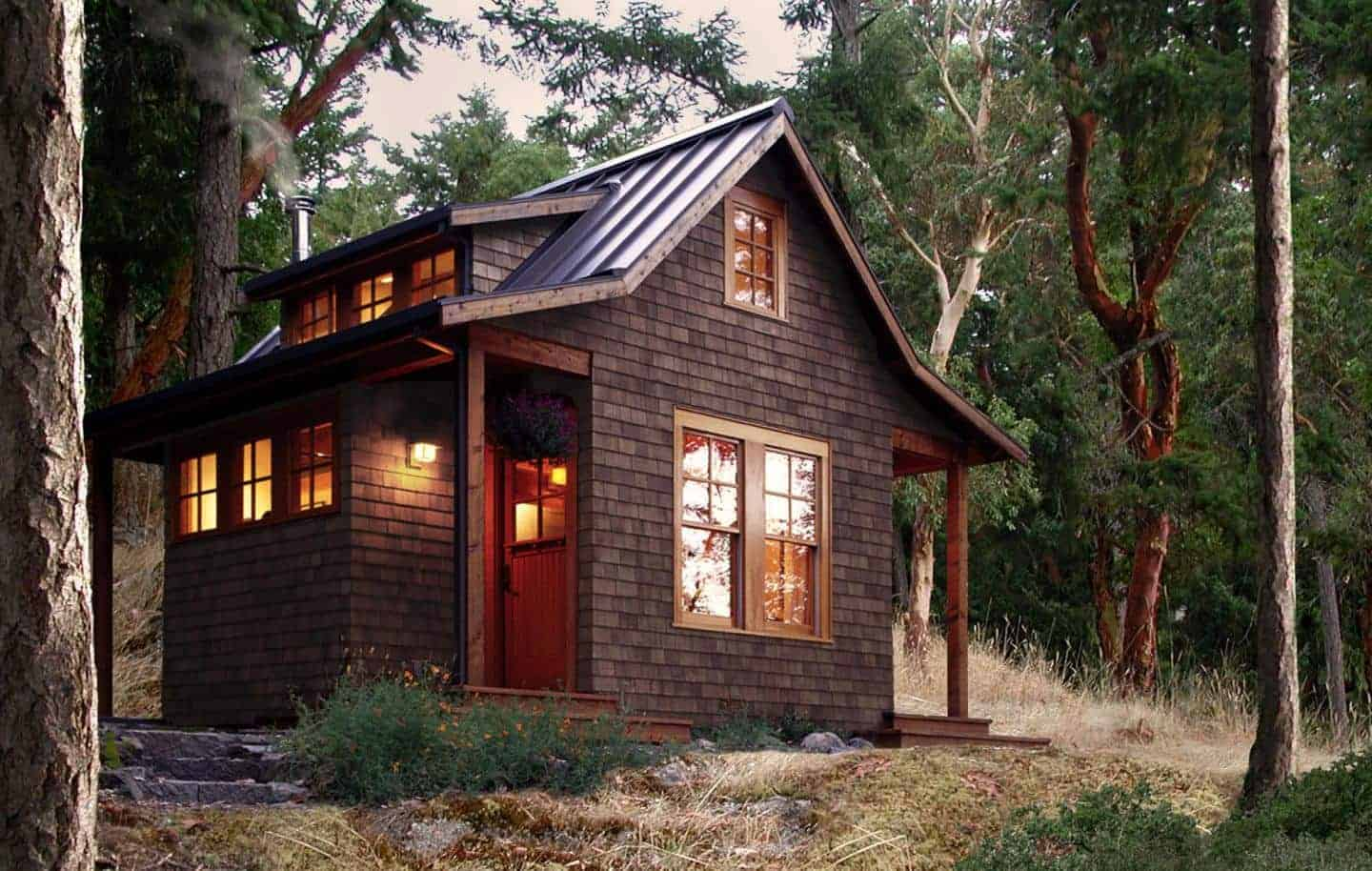 Tiny Victorian House Plans Small Cabins Tiny Houses Homes: San Juan Islands Offer A Remote Wilderness Haven For Tiny