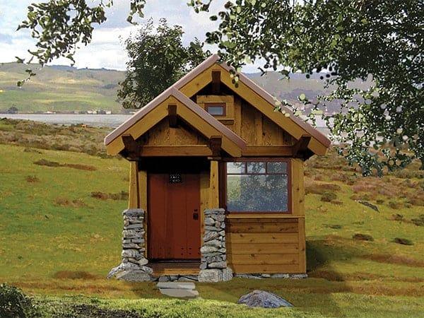 Marie Colvin tiny house design