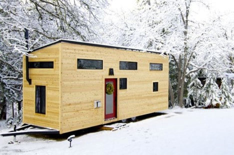 tiny house build home - Modern Tiny House Plans