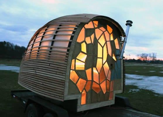 Students Design 70 sq. ft. Portable Home You Can Easily Tow
