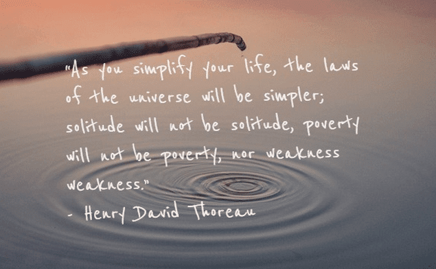 20+ Inspirational Quotes About Living Simply