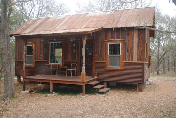 Tiny Texas Cowboy Cabin 1