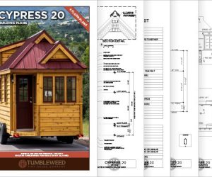 Tumbleweed Tiny House Cypress 20 Plans