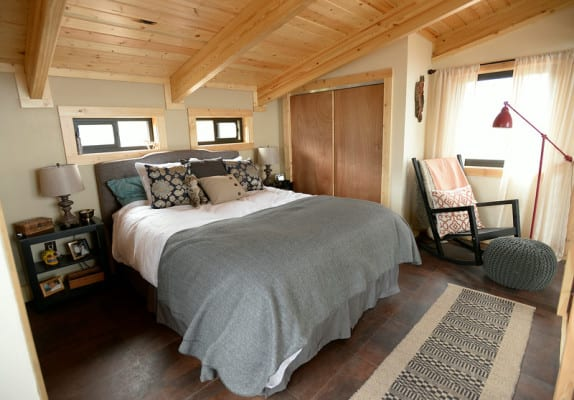 """""""David Cottrell and his wife Kristen Moeller have rebuilt their home following the forest fire in 2012. """""""