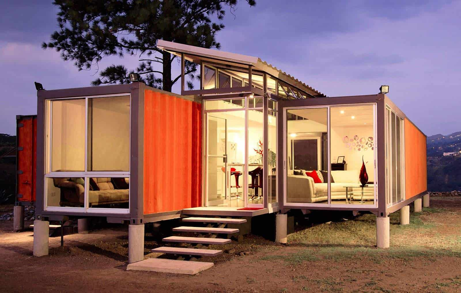 10 tricked-out tiny houses made from shipping containers