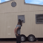Tour This Amazing Off Grid, DIY Tiny Mobile Home Built for $18k