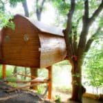 Amazing Treehouse Cabin for Rent in France