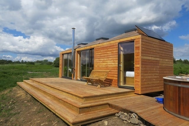 EcoPods Offer Simple, Stylish Off-grid Living