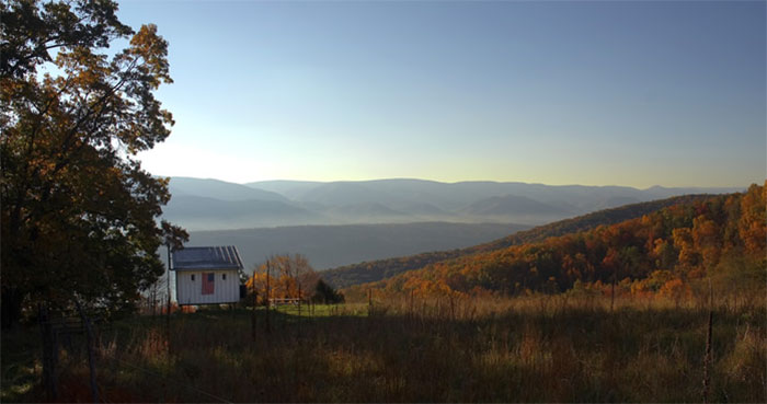The Shack, shown here, spawned an interest from consumers looking for an eco-friendly offgrid living solution.