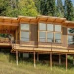 A High Class Prefab Cabin Built With Green Living in Mind