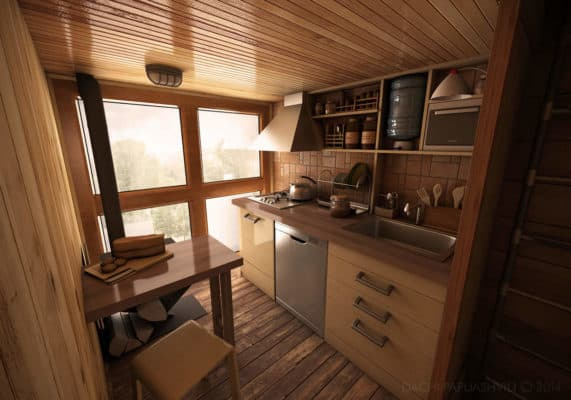 Micro Shipping Container Home 3