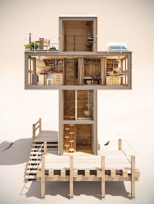 Micro Shipping Container Home 5