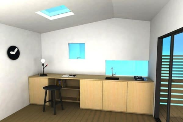 Mini House Modern Prefab 2