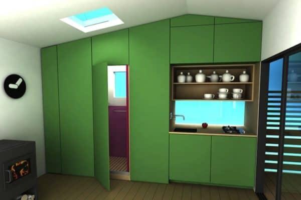 Mini House Modern Prefab 3