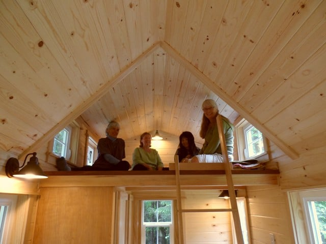 The Quot Ynez Quot Tiny House On Wheels Features A Spacious Loft