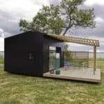 """A """"Popup"""" House You Can Assemble in Just Two Days"""