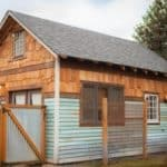 Portland Couple Builds Eclectic Backyard Guesthouse With Reclaimed Materials