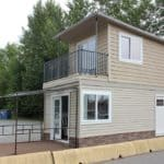 Simple Elegance In This Two Story, 350 sq. ft. Micro Home