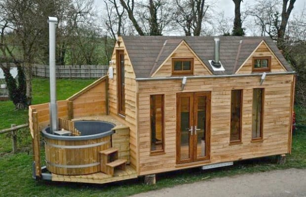 Luxury Tiny House on Wheels With a Hot Tub Tiny House for Us