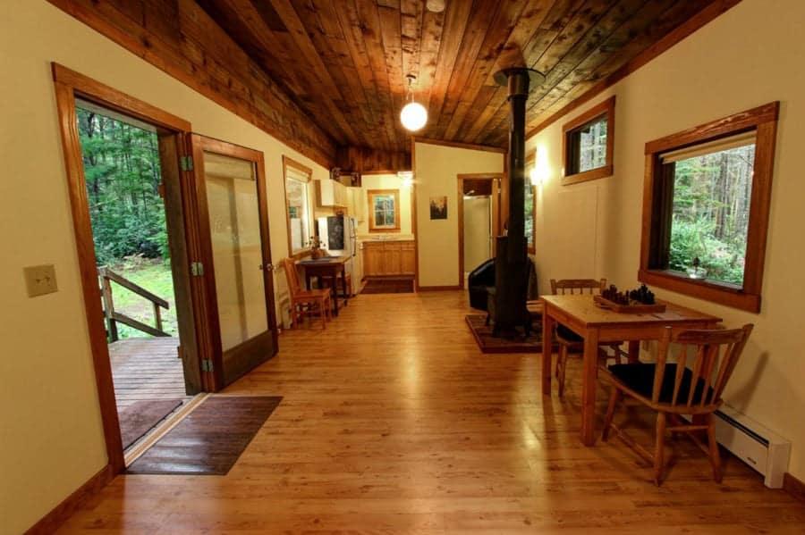 A Simple One Room Cabin In Vashon Wa