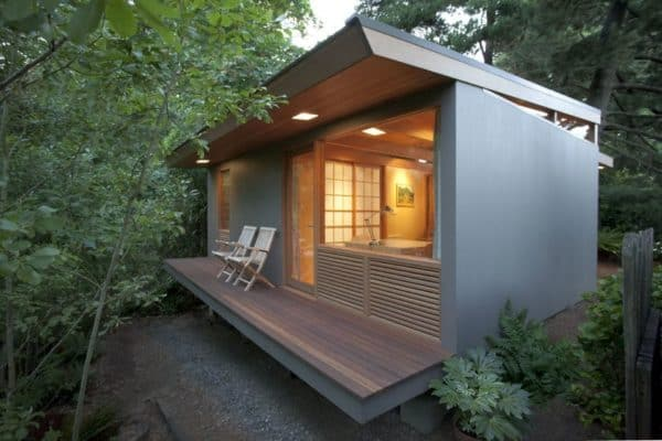 This gorgeous zen like tiny house spans generations for Gorgeous small homes
