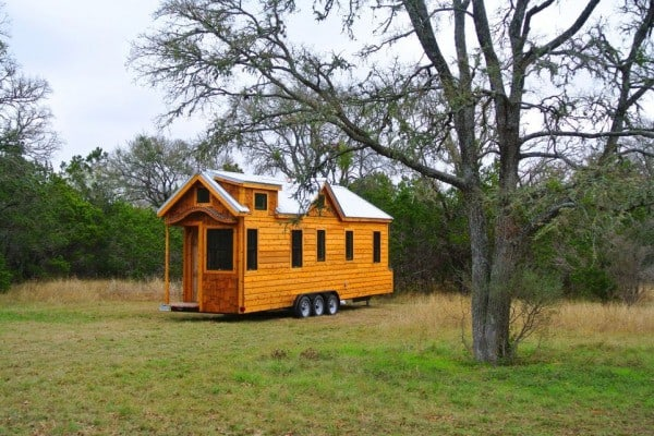 Superb Craftsmanship Defines This 30' Tiny House On Wheels