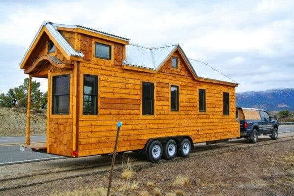 Superb Craftsmanship Defines This 30' Tiny House On Wheels - Tiny