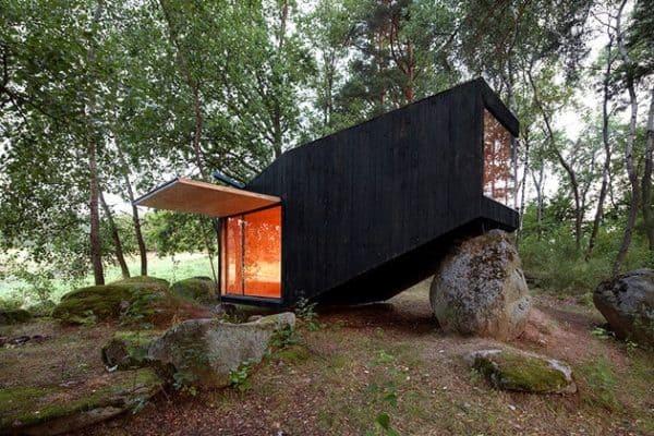 Cute Forest Cabin 1