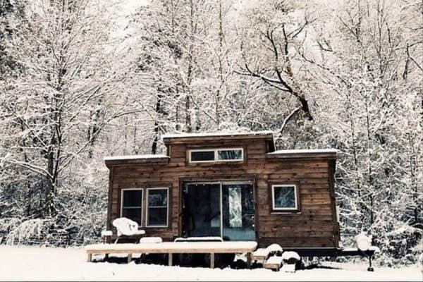 She Found Freedom and Comfort in a Tiny House on a Homestead