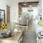 Styles Collide In This Tiny Moscow Apartment