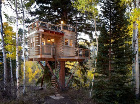 Whimsical Tree House 1