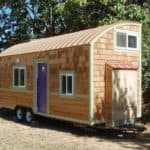 "The 248sf Eco-Friendly ""Lilypad"" Tiny Home"