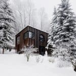 This Timber Cabin Was Built in Two Days