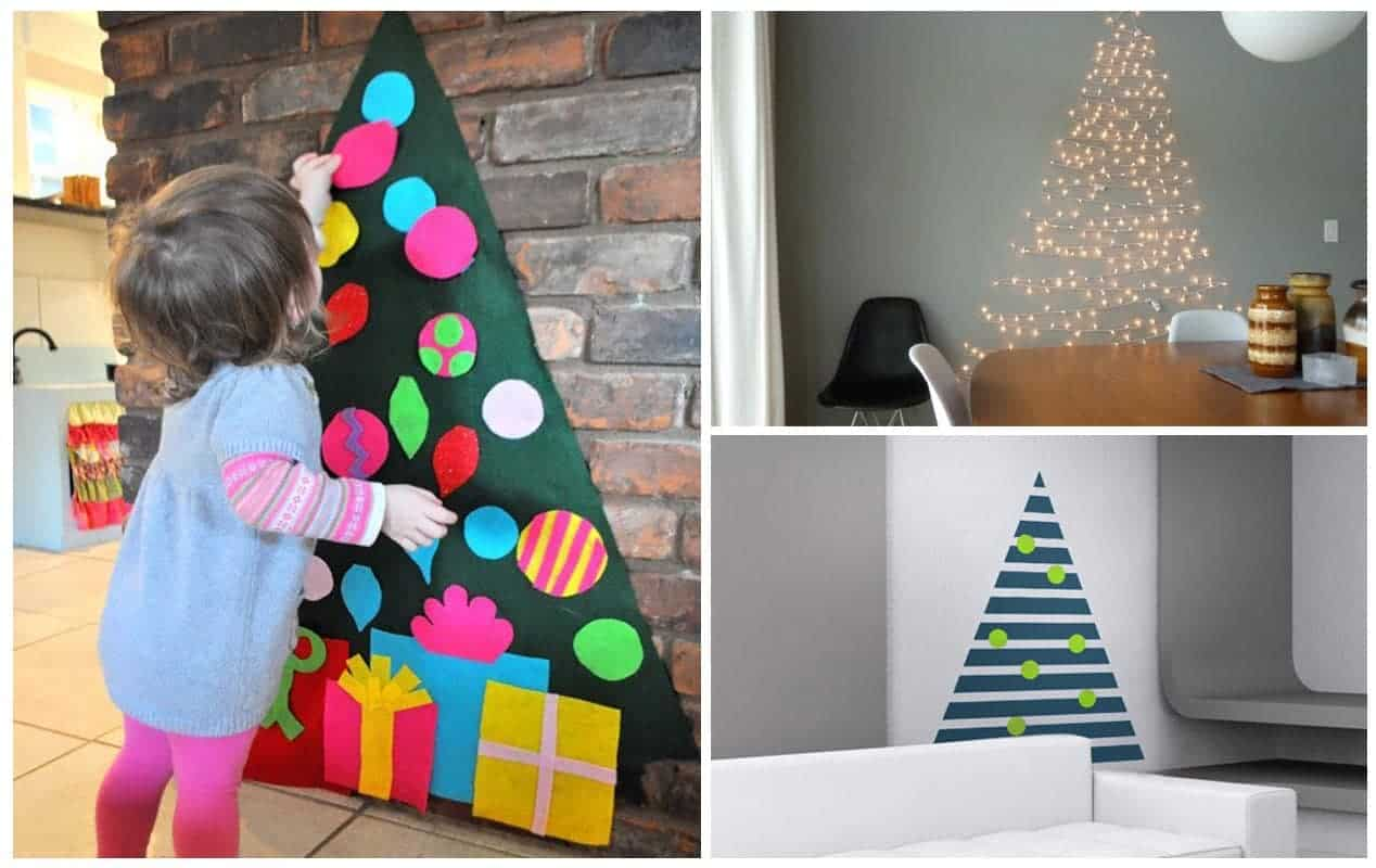 5 Christmas Tree Alternatives For Small Spaces