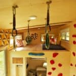 Clever Design Hacks Like The Rockclimbing Wall Make This 200sf Offgrid Tiny House One Of A Kind