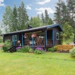 A 570 Square Foot Country Charmer in Sweden