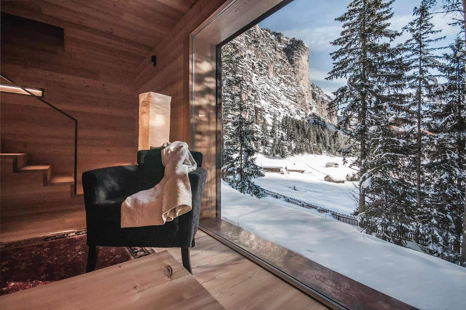 this remote mountain cabin may be tiny but the views massive