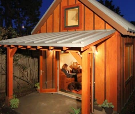 This Tiny Cottage Provides UC Berkeley Professor Extra Room For Family And Friends