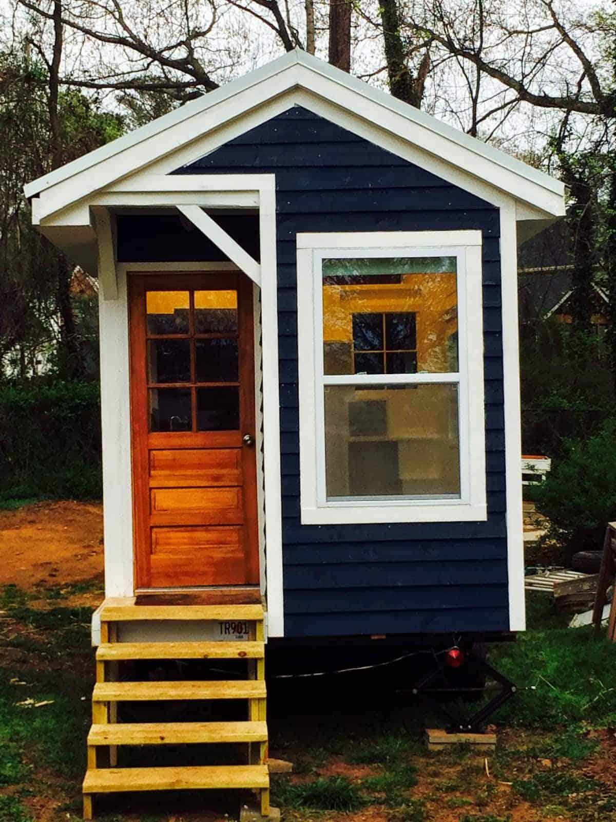 La Petite Maison Atlanta despite challenges, she built her tiny house for $10k. the
