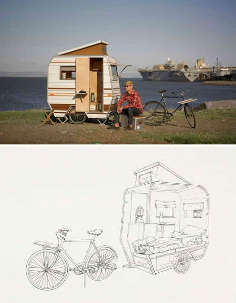 4 Portable Campers You Can Tow With A Bike
