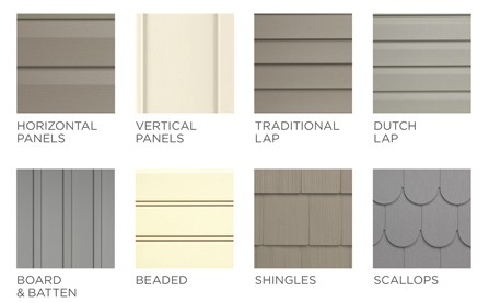 All about siding materials and styles for Types of siding