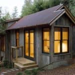 Rustic Cabin Gets a Makeover Using Salvaged Material