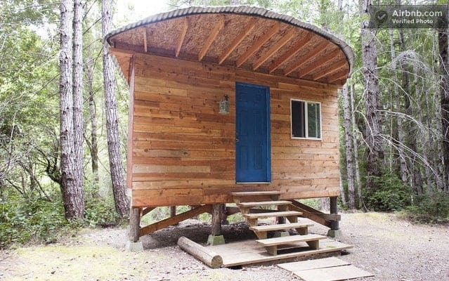 Six Great Tiny Houses You Can Rent For A Night Tiny House for Us
