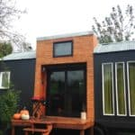 """Couple Says """"Why not"""" and Built a Stylish Tiny House With Zero Experience."""