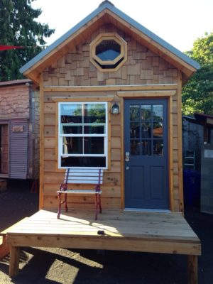 "Rent The 170 Sq. Ft. ""Kangablue"" At This Tiny House Hotel"