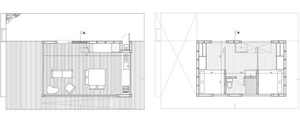 2-Hermanos-Cabin-Small-Cabin-WMR-Arquitectos-Chile-Floor-Plan