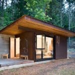Tiny Cabin Made From Steel + Wood Shows Off Tom Kundig's Visionary Architecture