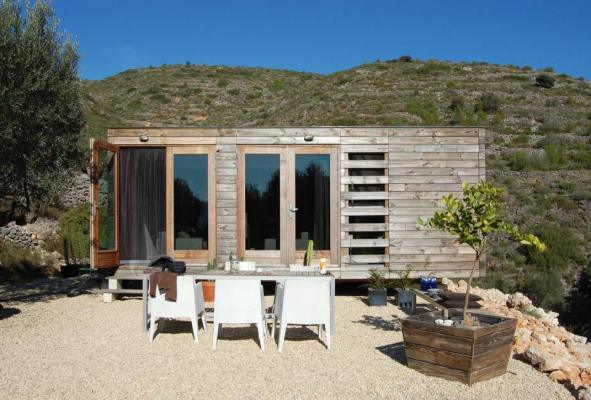 This Stylish Spanish Prefab Was Designed And Built In A Matter Of